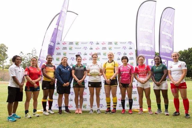 Selección española femenina de Seven rugby Brisbane