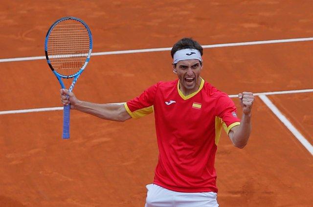 Albert Ramos España Gran Bretaña Copa Davis Cup