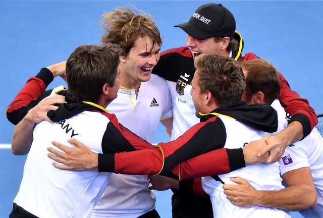 Alexander Zverev Alemania Copa Davis
