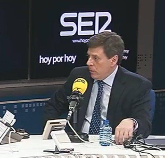 Juan Carlos Quer, padre de Diana Quer, en una entrevista en la Cadena Ser