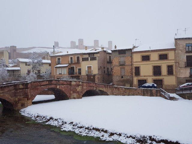 Nieve en Guadalajara