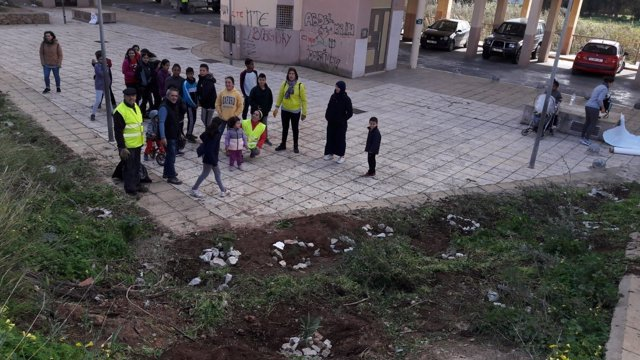 Plantación de ecologistas en Melilla