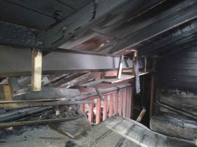 Incendio en apartamento de Brañavieja
