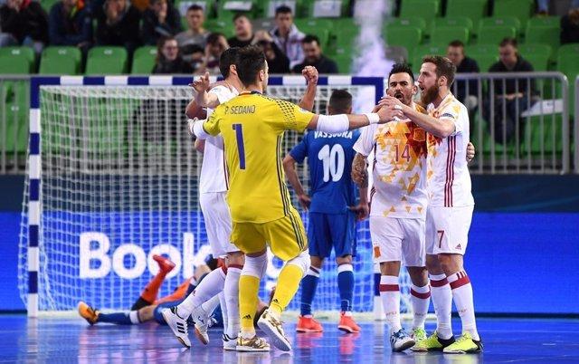 Azerbaiyán - España, Europeo de fútbol sala