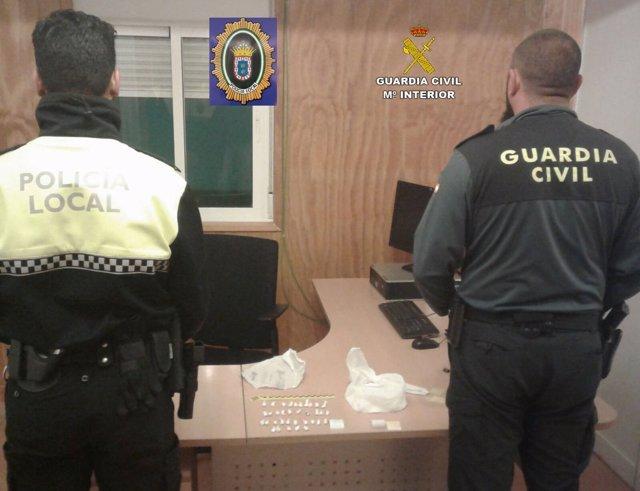 """Remitiendo Np Opc Huelva """"En Un Dispositivo Conjunto, La Guardia Civil Y La Poli"""