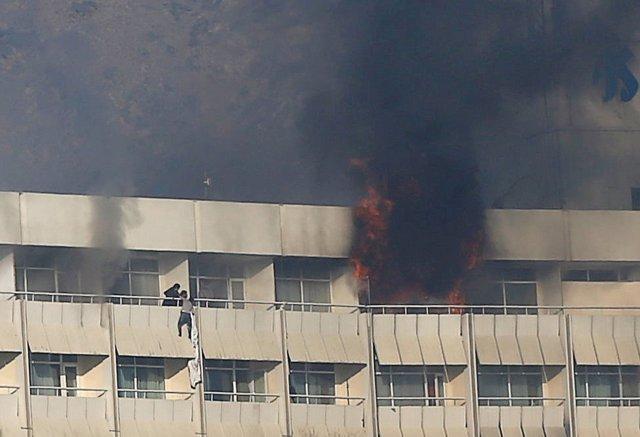 Ataque al Hotel Intercontinental de Kabul