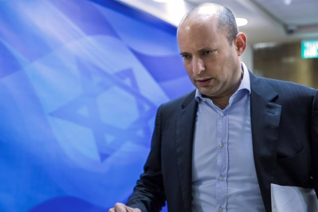 El ministro de Educación israelí Naftali Bennett, el 4 de febrero de 2018