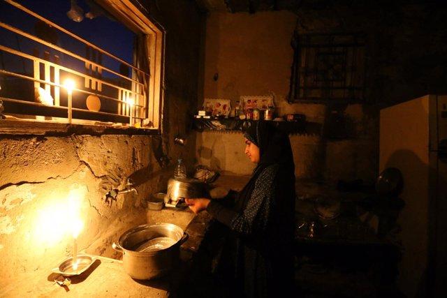 Corte de luz en la Franja de Gaza