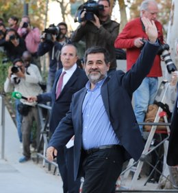 Jordi Sánchez acude a declarar a la Audiencia Nacional