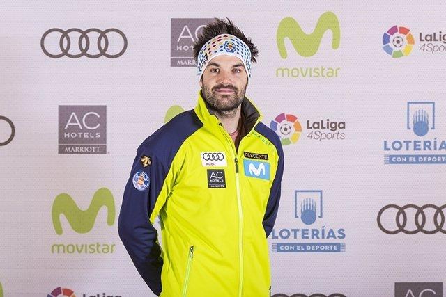 El esquiador español Quim Salarich