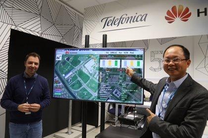Telefónica y Huawei completan la primera prueba de concepto sobre conducción asistida basada en 5G-V2X
