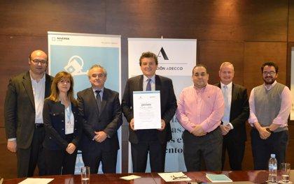 Maersk Line y la Fundación Adecco se unen para promover la inserción laboral de las personas con discapacidad