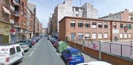 Calle Vélez de Guevara, junto al colegio
