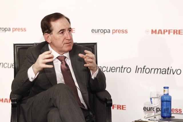 Encuentro Informativo organizado por Europa Press con el presidente de Mapfre