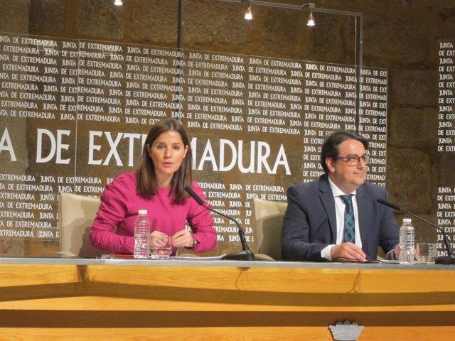 Isabel Gil Rosiña y José María Vergeles