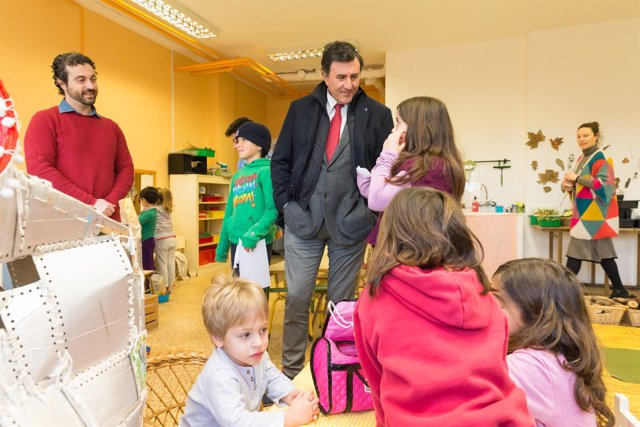 Visita al colegio Vital Alsar