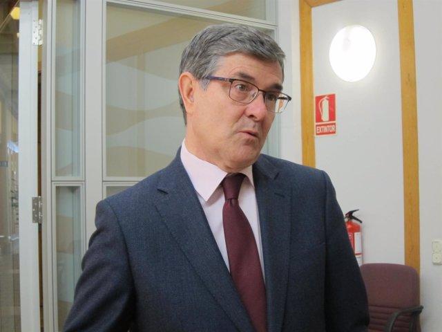 El consejero de Presidencia del Gobierno de Aragón, Vicente Guillén