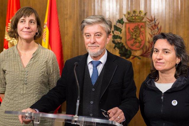 Fotografías Declaraciones Pedro Santisteve