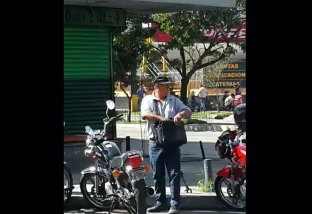 Ladrón moto