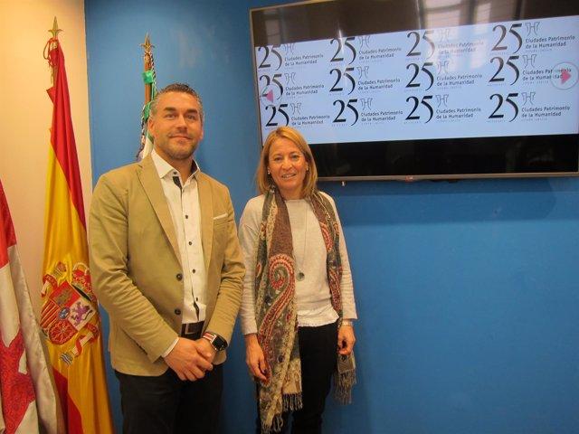Cáceres celebra los 25 años del Grupo de Ciudades Patrimonio de la Humanidad