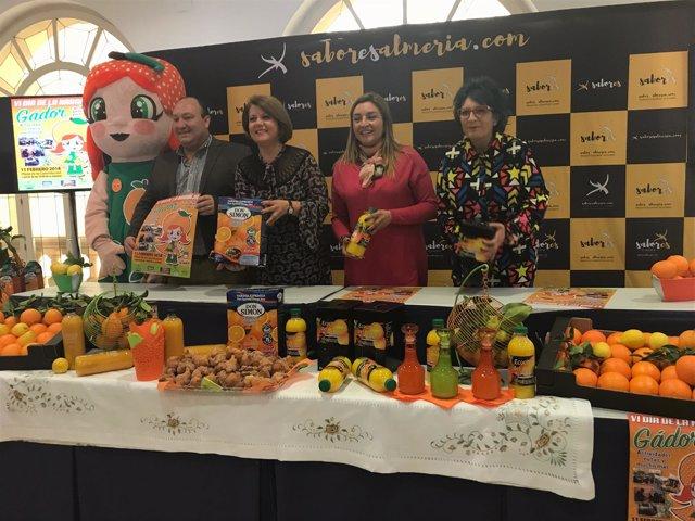 Gádor celebra el 11 de febrero la sexta edición del 'Día de la Naranja'.