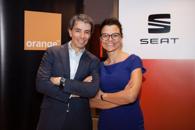 Luis Santos y Arantxa Alonso