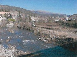 Trabajos de mantenimiento del río Ter