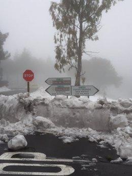 Nieve en Gran Canaria