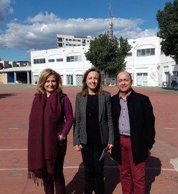 Fernández visita el CEE 'Princesa Sofía'
