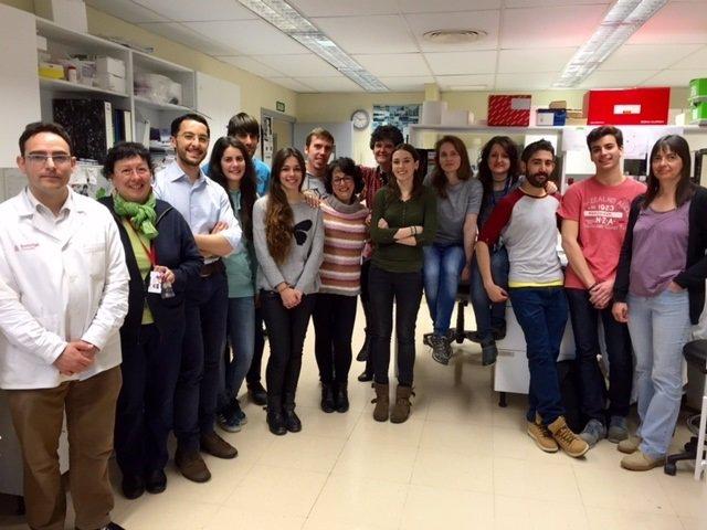 Grupo de la investigadora I.Frabregat del Idibell