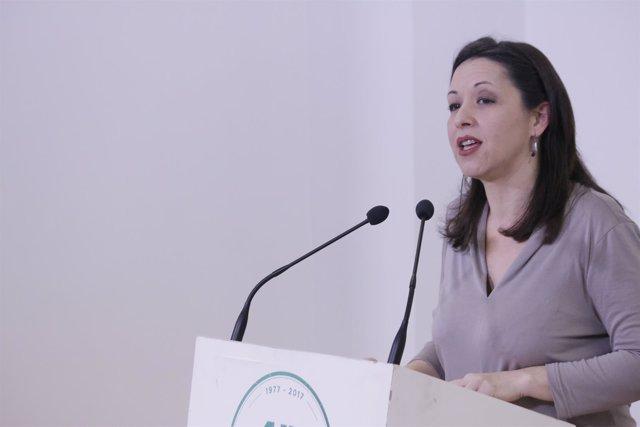 La secretaria de Feminismos de Podemos Andalucía, Rocío Medina