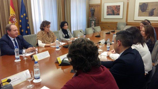 Reunión de la ministra de Sanidad con FundAME