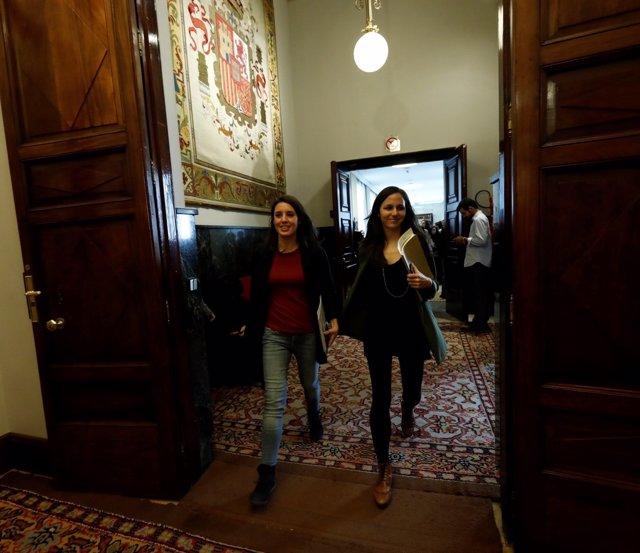 Irene Montero e Ione Belarra, de Podemos