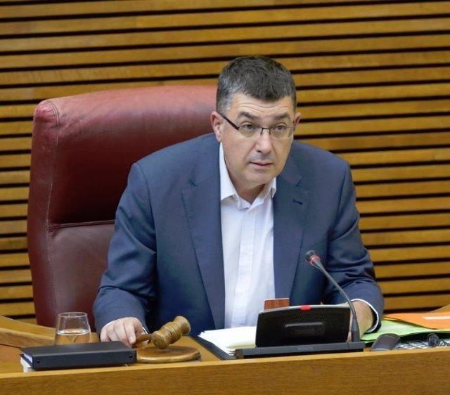 El presidente de las Corts, Enric Morera, en una imagen reciente
