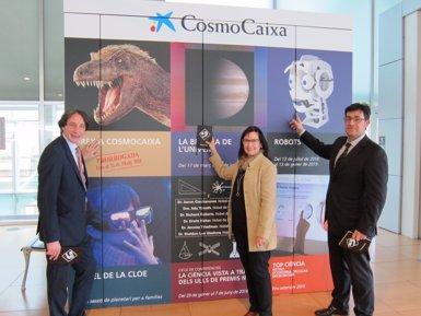 El Cosmocaixa dirigirà una mirada artística a l'univers durant aquest any (EUROPA PRESS)