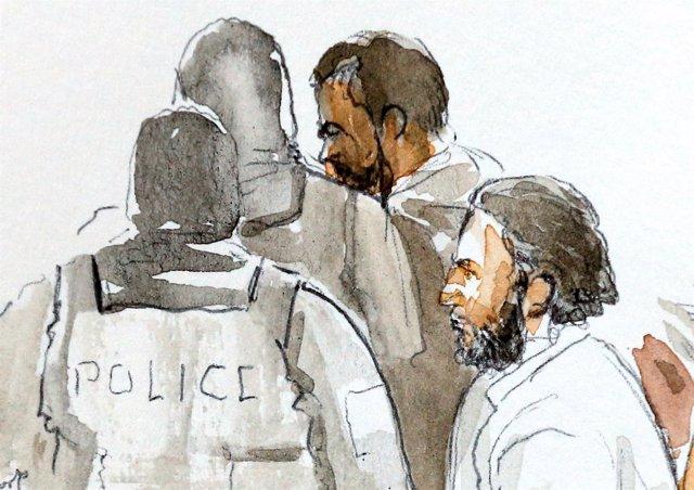 Juicio contra Salah Abdeslam en Bruselas