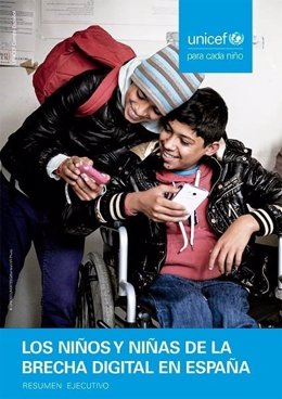 UNICEF, brecha digital