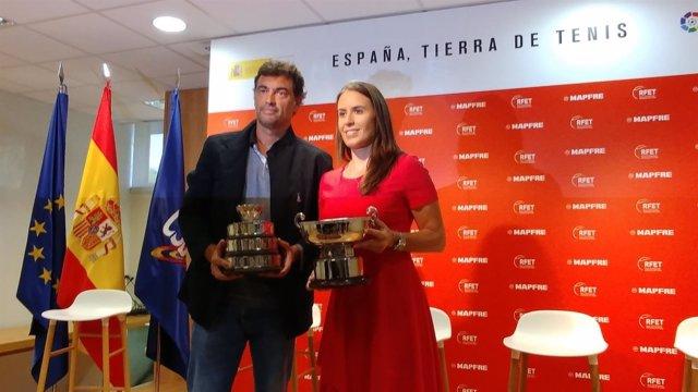 Anabel Medina y Sergio Bruguera, nuevos capitanes