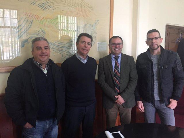 Reunión entre la FOE y la Fundación Río Tinto.