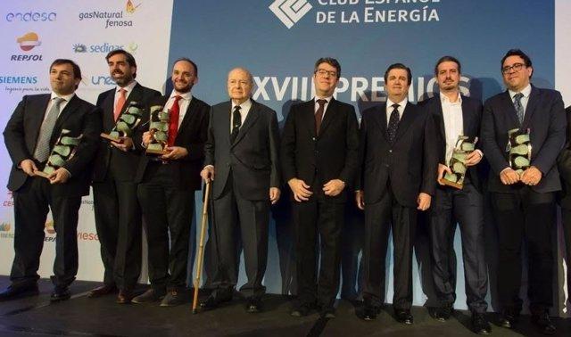 Entrega de los XXVIII Premios de Enerclub