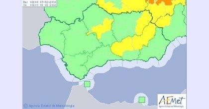 Aviso amarillo este miércoles en Córdoba, Granada y Jaén por temperaturas mínimas de hasta -4ºC
