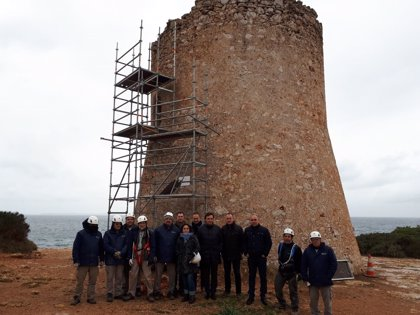 El Consell arranca el programa de restauración de torres de defensa de Mallorca con la torre de Cala Pi