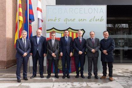 El Hospital Clínic, Sant Joan de Déu, la UB y el Barça promoverán la medicina deportiva