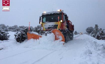 Finaliza la emergencia decretada en Castellón por nevadas que ha dejado embolsados a 400 camiones