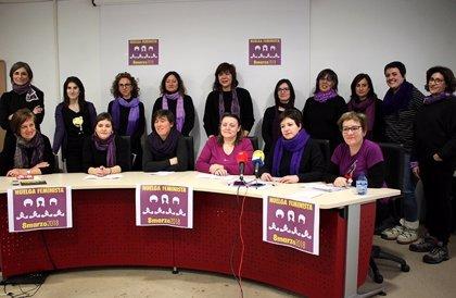 """La Asamblea Huelga Feminista de Soria pide un parón de """"cuidados, laboral, de consumo y estudiantil"""" para el 8 de marzo"""