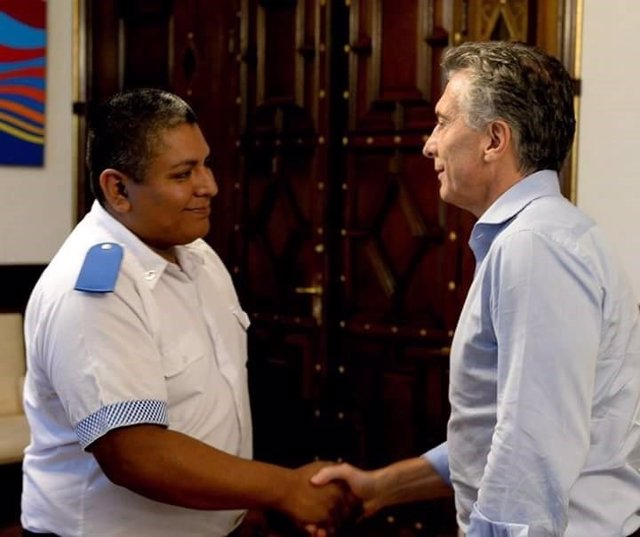 Macri y Chocobar