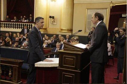 """Albiol asegura que le da """"pena"""" dejar el Senado y que ha sido """"voz de la sociedad no independentista"""""""
