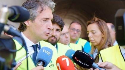 El ministro de Fomento se reúne este miércoles con los alcaldes de Alcantarilla y Cartagena