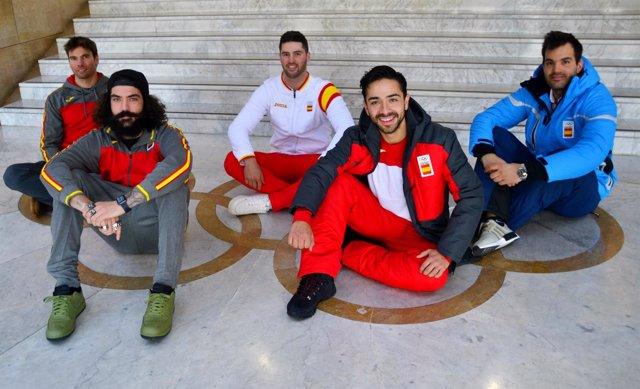 El COE despide al equipo olimpico de los Juegos de Invierno en Pyeongchang