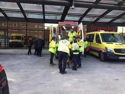 Herido grave un trabajador tras caer desde una altura de siete metros al ceder el techo de una nave en desuso